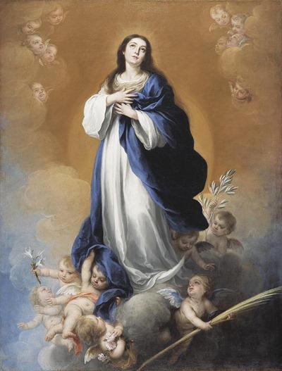 A Imaculada Conceição - Bartolomé Esteban Murillo
