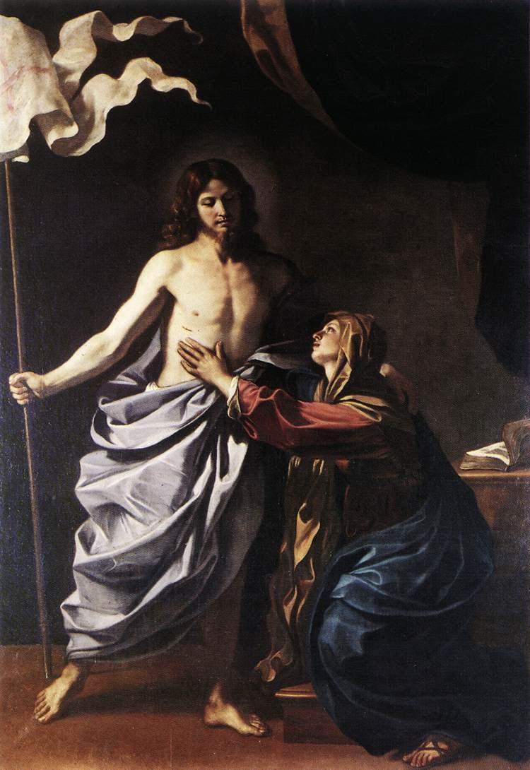 Cristo Ressuscitado aparece à Virgem (pintura de Guercino, 1629)