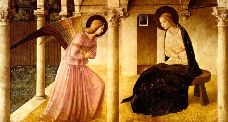 Anunciação - Fra Angelico